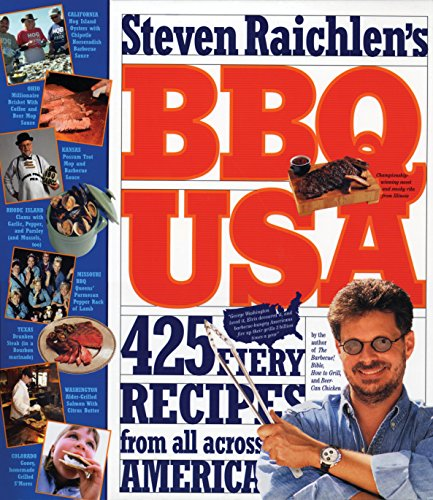 The best books on Barbecue and Grill - BBQ USA by Steven Raichlen