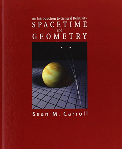 The best books on Cosmology - Spacetime and Geometry by Sean M Carroll