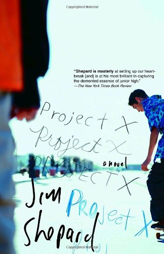 Jim Shepard recommends his favourite Short Stories - Project X by Jim Shepard