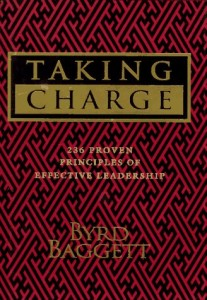The best books on Bringing Change to America - Taking Charge by Byrd Baggett