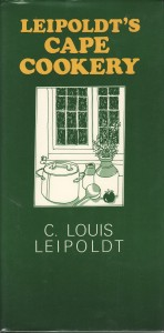 The best books on Barbecue and Grill - Leipoldt's Cape Cookery by C Louis Leipoldt