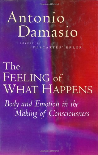The best books on Gender and Human Nature - The Feeling of What Happens by Antonio Damasio
