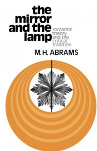 Harold Bloom recommends the best of Literary Criticism - The Mirror and the Lamp by MH Abrams