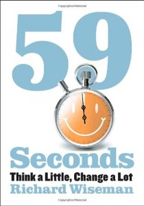 The best books on Debunking the Paranormal - 59 Seconds by Richard Wiseman