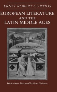 Harold Bloom recommends the best of Literary Criticism - European Literature and the Latin Middle Ages by Ernst Robert Curtius