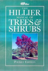 The best books on Garden Design - The Hillier Manual of Trees and Shrubs by Hilllier Nurseries