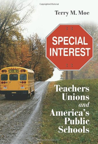 The best books on American Education - Special Interest by Terry Moe