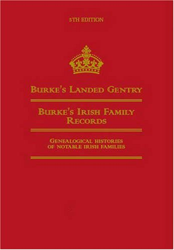 The best books on Family History - Burke's Landed Gentry by Hugh Montgomery-Massingberd