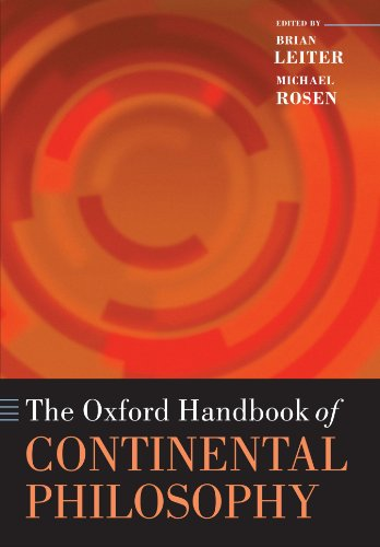 The best books on Nietzsche - The Oxford Handbook of Continental Philosophy by Brian Leiter & Brian Leiter (co-editor)