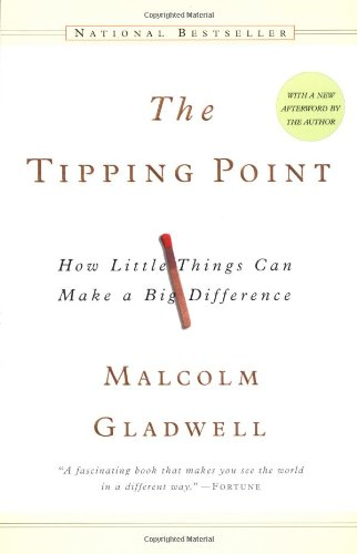 The best books on Leadership - The Tipping Point by Malcom Gladwell