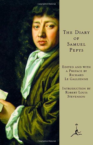 The best books on London - The Diary of Samuel Pepys by Samuel Pepys