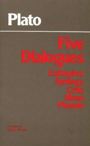 The best books on Morality Without God - Five Dialogues by Plato (translated by GMA Grube)
