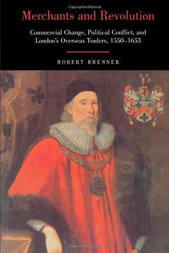 The best books on The Glorious Revolution - Merchants and Revolution by Robert Brenner