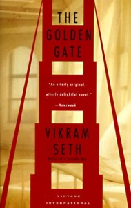 Armistead Maupin recommends the best San Francisco Novels - The Golden Gate by Vikram Seth