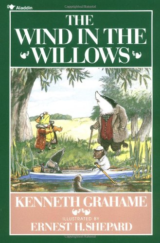 M G Leonard recommends the best Nature Books for Kids - The Wind in the Willows by Kenneth Grahame