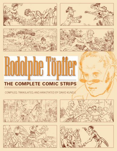 The best books on Picture Stories - The Complete Comic Strips by Rodolphe Töpffer