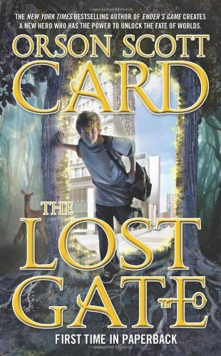The best books on Science Fiction - The Lost Gate by Orson Scott Card