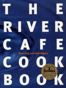 The best books on Italian Food - The River Café Cookbook by Ruth Rogers