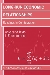 The best books on Econometrics - Long-Run Economic Relationships by RF Engle and CWJ Granger