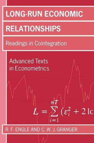 The best books on Econometrics - Long-Run Economic Relationships by RF Engle and CWJ Granger