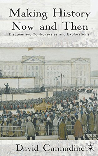 David Cannadine recommends the best books on the British Empire - Making History Now and Then by David Cannadine