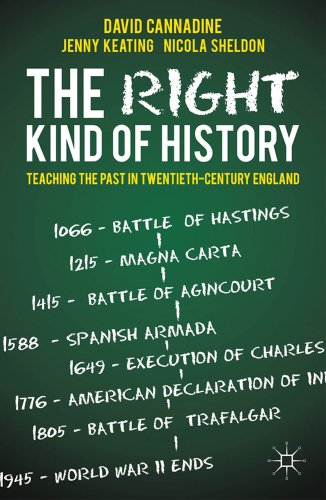 David Cannadine recommends the best books on the British Empire - The Right Kind of History by David Cannadine & David Cannadine, Jenny Keating and Nichola Sheldon