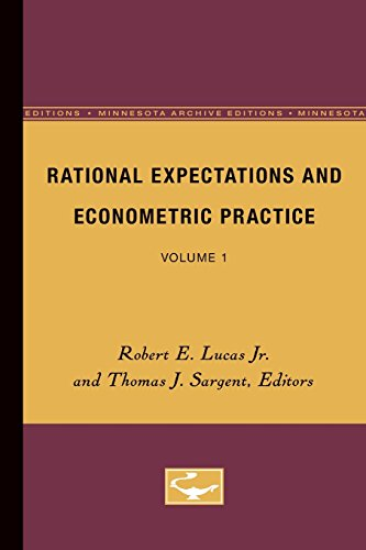 Economics five books expert recommendations rational expectations and econometric practice volume 1 by robert e lucas jr and thomas j sargent editors fandeluxe Image collections