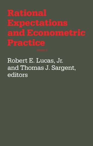 The best books on Econometrics - Rational Expectations and Econometric Practice (Volume 2) by Robert E Lucas Jr and Thomas J Sargent (editors)