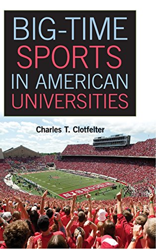 The best books on Economics is Fun - Big-Time Sports in American Universities by Charles T Clotfelter