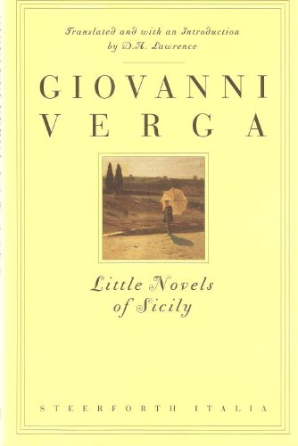 Tim Parks recommends the best Italian Novels - Little Novels of Sicily by Giovanni Verga (translated by DH Lawrence)