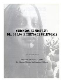 The best books on The Day of The Dead - Chicanos en Mictlan by Tere Romo