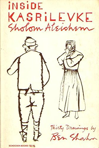 Allegra Goodman recommends the best Jewish Fiction - Inside Kasrilevke by Sholem Aleichem