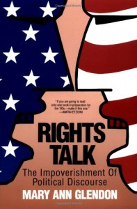 The best books on Context of the UK Riots - Rights Talk by Mary Ann Glendon