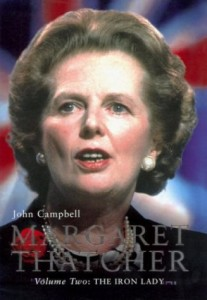 The best books on British Prime Ministers - Margaret Thatcher by John Campbell