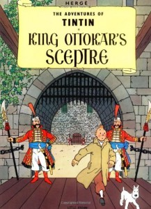 The best books on Belgium - King Ottokar's Sceptre by Hergé