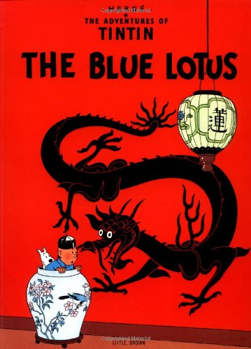 The best books on Tintin - The Blue Lotus by Hergé