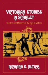 The best books on Life in the Victorian Age - Victorian Studies in Scarlet by Richard D Altick