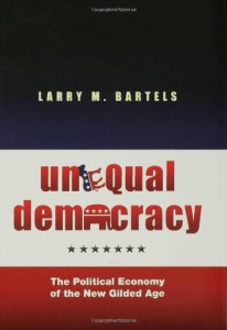 The best books on Inequality - Unequal Democracy by Larry M Bartels