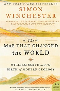 The best books on Volcanoes - The Map That Changed the World by Simon Winchester