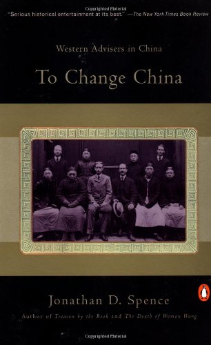 The best books on China and the US - To Change China by Jonathan D Spence