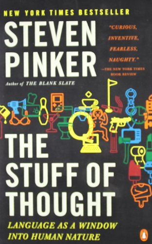 The best books on Language - The Stuff of Thought by Steven Pinker