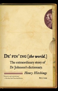 The best books on Language - Defining the World by Henry Hitchings