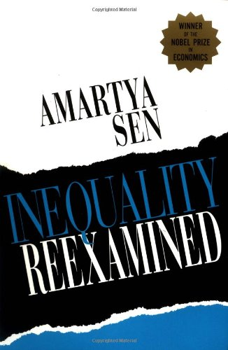 The best books on Fairness and Inequality: Inequality Reexamined by Amartya Sen