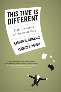 The best books on Crashes - This Time Is Different by Carmen Reinhart & Kenneth Rogoff