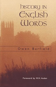 The best books on Language - History in English Words by Owen Barfield