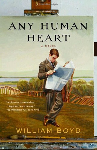 Writers Who Inspired Him - Any Human Heart by William Boyd