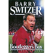 The best books on American Football (and its Dark Side) - Bootlegger's Boy by Barry Switzer