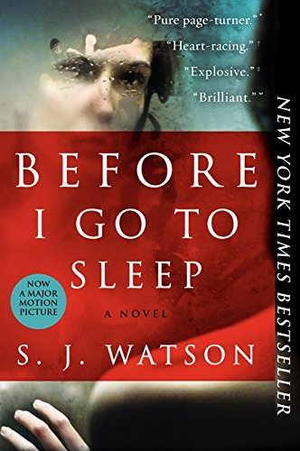 Tess Gerritsen recommends her Favourite Thrillers - Before I Go To Sleep by SJ Watson