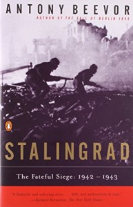 The best books on World War II - Stalingrad by Antony Beevor