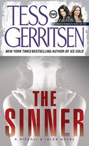 Tess Gerritsen recommends her Favourite Thrillers - The Sinner by Tess Gerritsen